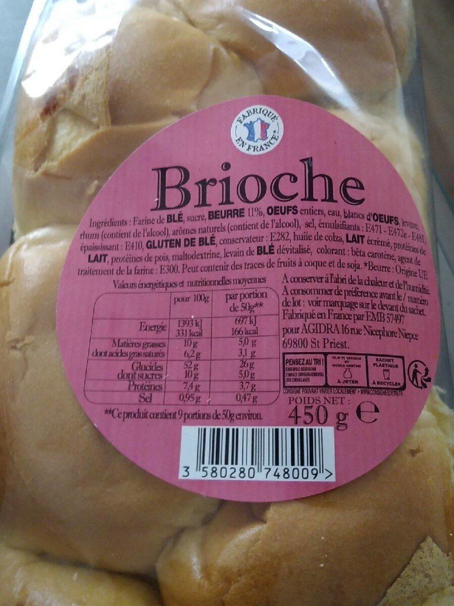 Brioche - Produto - fr