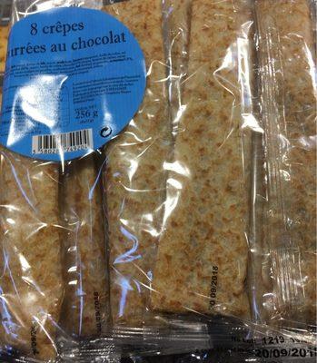 Crêpes fourées chocolat - Product
