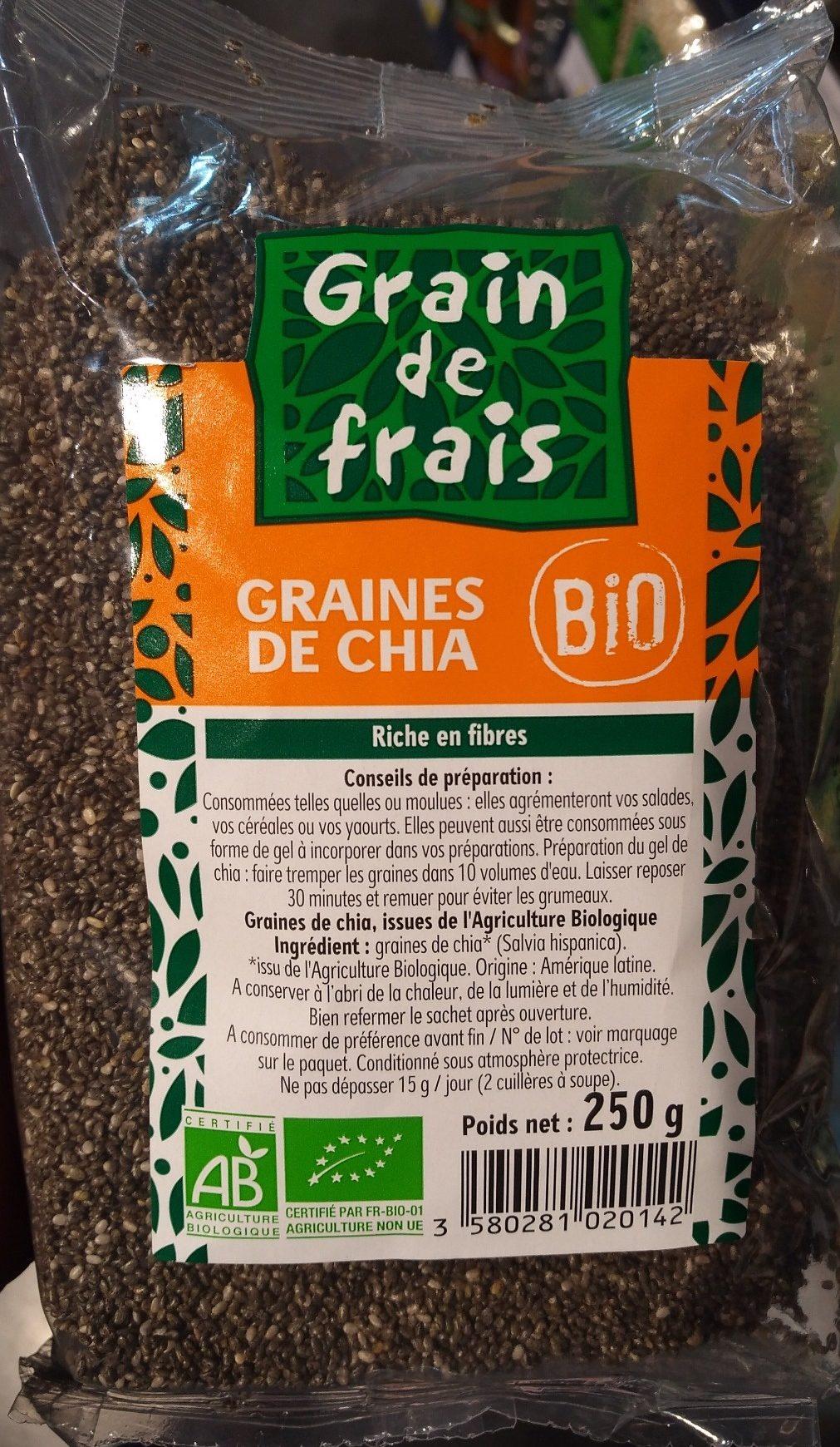 Graine de chia - Produit - fr