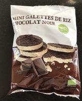 Mini Galette de Riz Chocolat Noir - Produit - fr