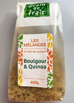 Mélange Boulgour & Quinoa - Produit - fr