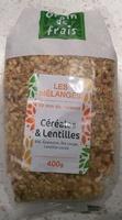 Céréales & lentilles - Product - fr