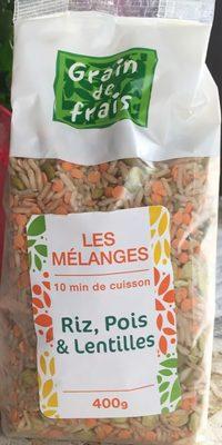 Riz, Pois & Lentilles - Product