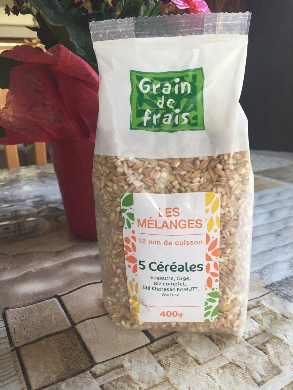Mélange 5 Céréales - Produit