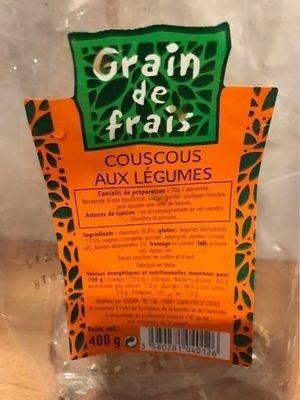 Couscous aux legumes - Produit - fr
