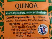 Quinoa - Ingredients - fr