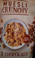 Muesli crunchy - Produit - fr