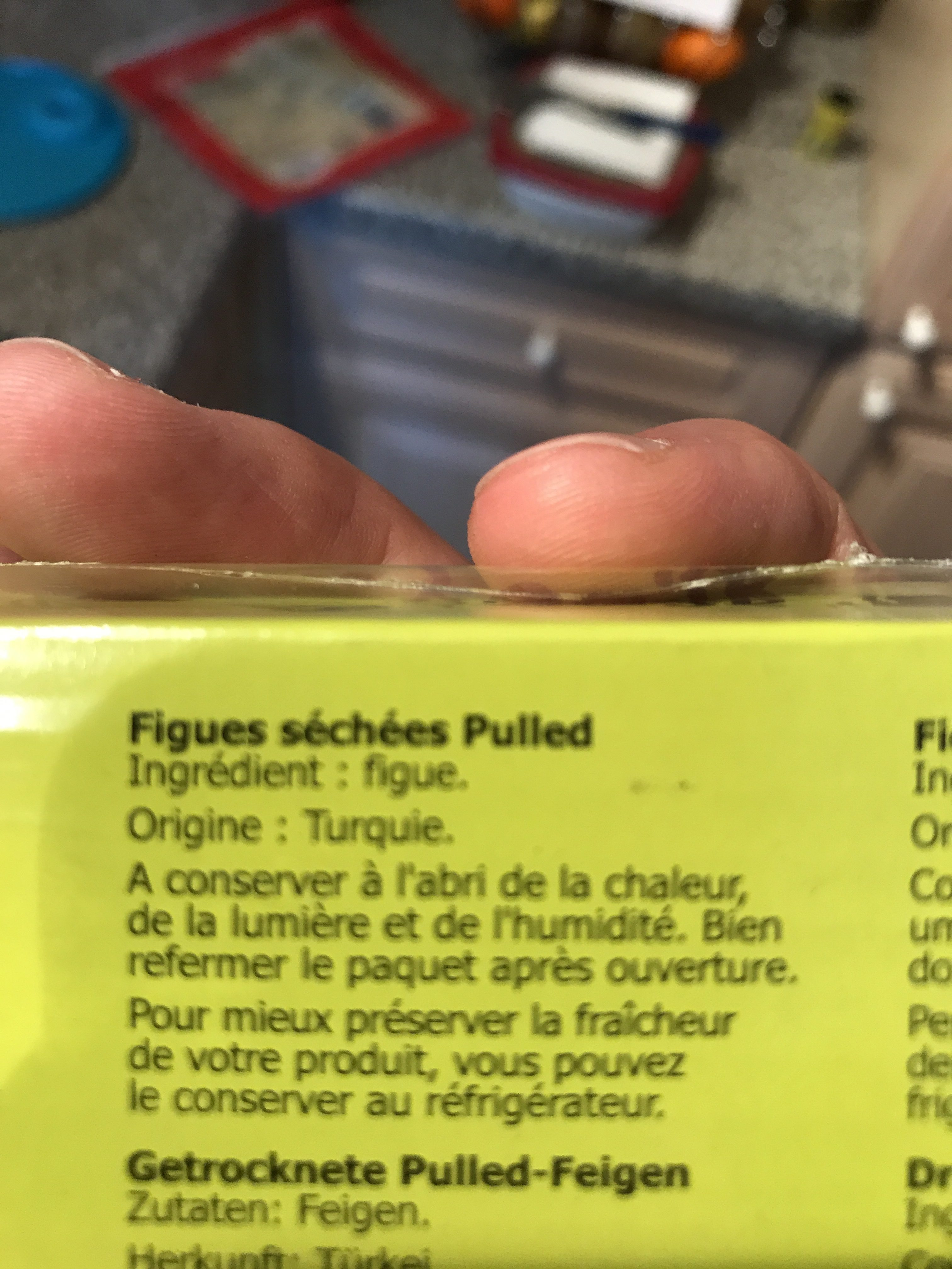 Figues Pulled N°6 Ravier 500G NOUVELLE RECOLTE - Ingredients - fr