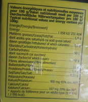 Figues Pulled N°6 Ravier 500G NOUVELLE RECOLTE - Nutrition facts