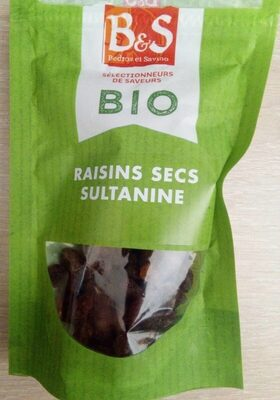 Raisin sec sultanine - Produit - fr