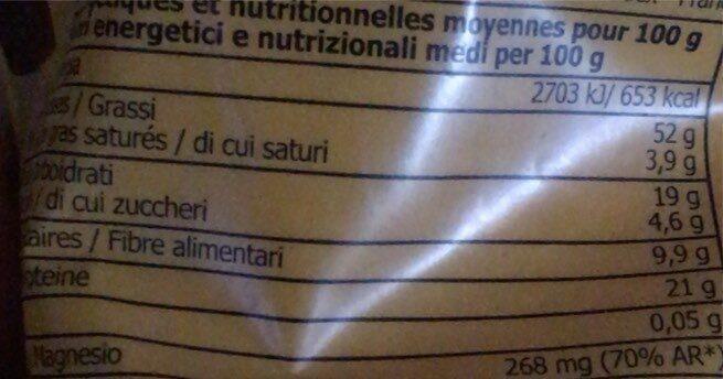 Poudre d'amandes - Nutrition facts - fr