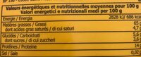 Pignons B &S Sachet - Nutrition facts - fr