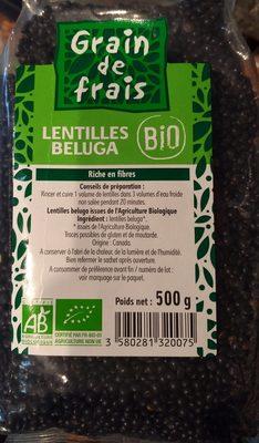 Lentilles Beluga - Product