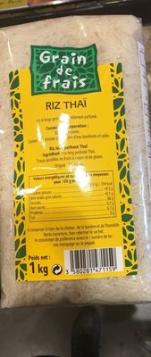 Riz thaï - Producto - fr