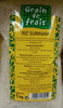 Riz Surinam - Product