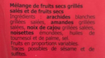 Mélange californien - Ingrédients - fr