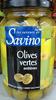 Olives vertes entières - Product