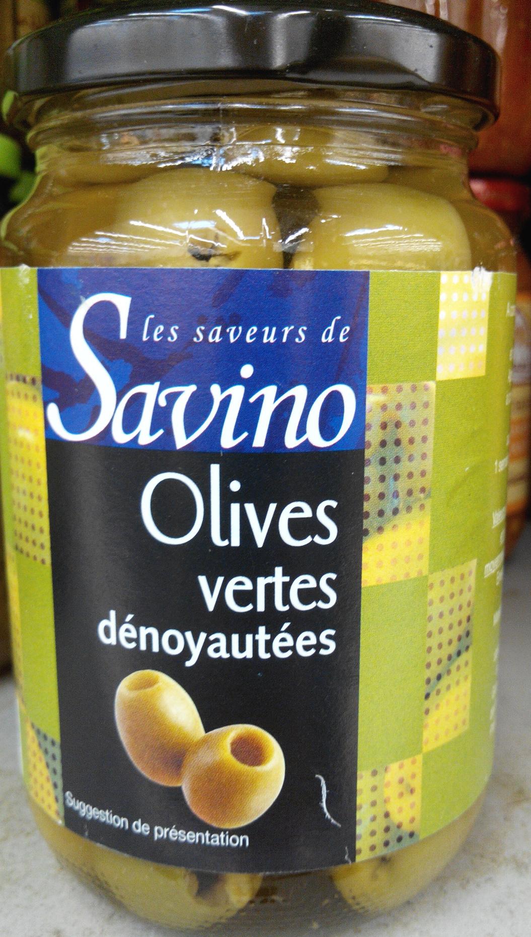 Olives vertes dénoyautées - Produit - fr