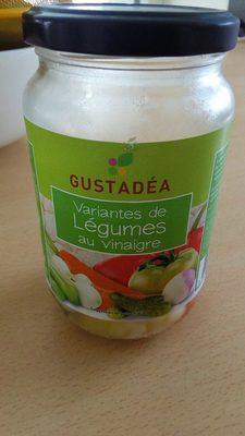 Variantes de légumes au vinaigre - Product - fr