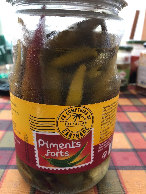 Piments forts - Produit - fr