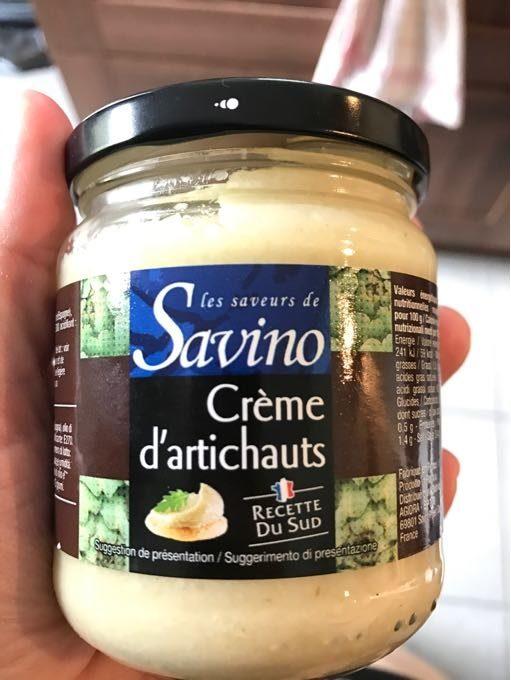 Creme D'artichauts - Produit - fr