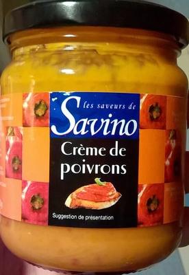 Crème de poivrons - Produit