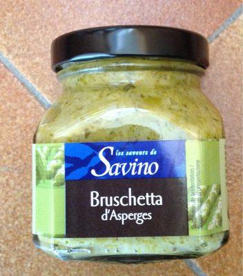 Bruschetta d'asperges - Produit - fr
