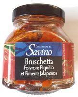 Bruschetta poivrons et piments - Produit - fr