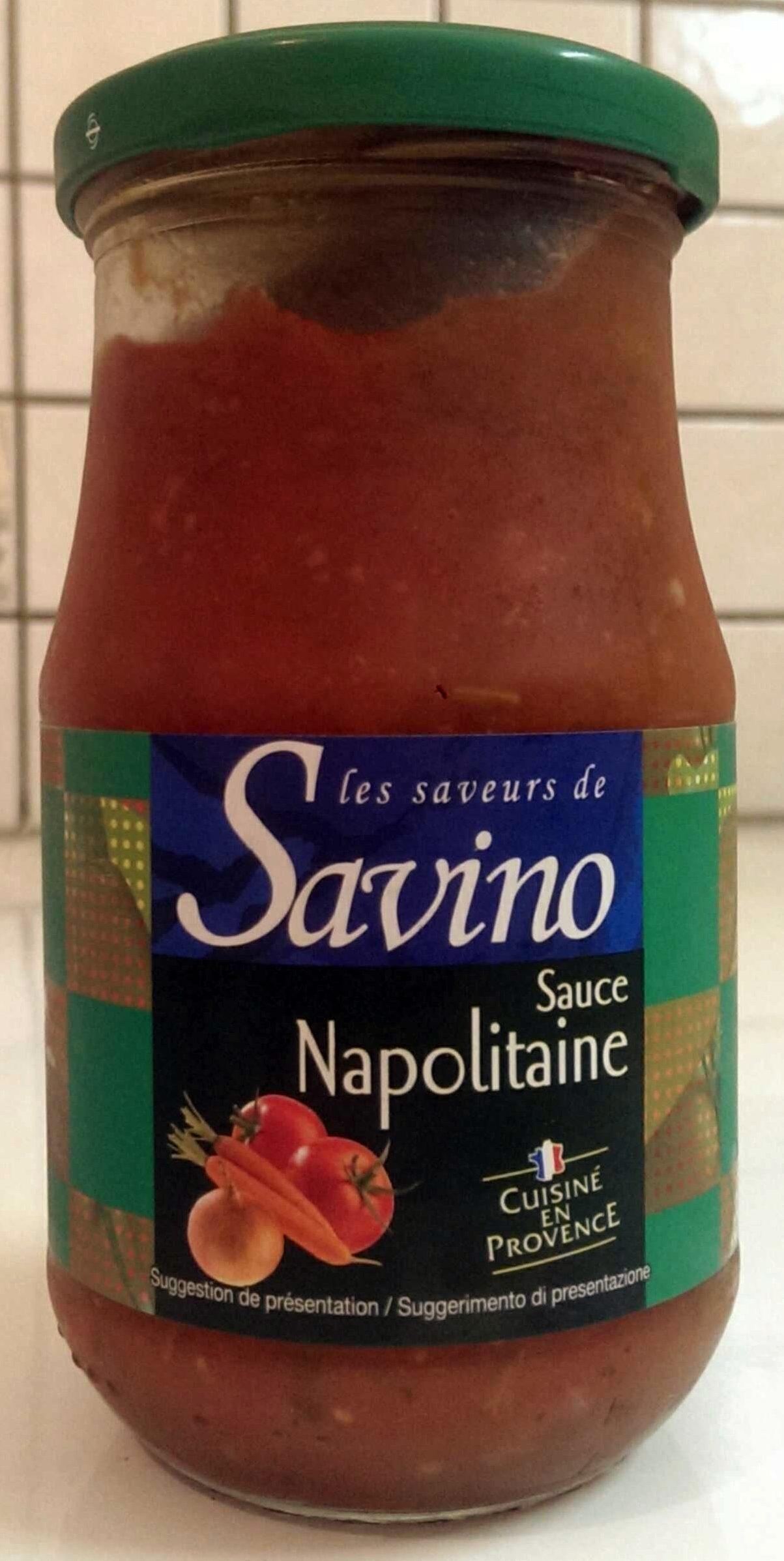 Sauce Napolitaine - Produit