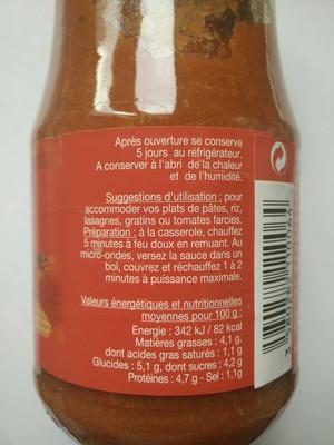 Sauce bolognaise - 2