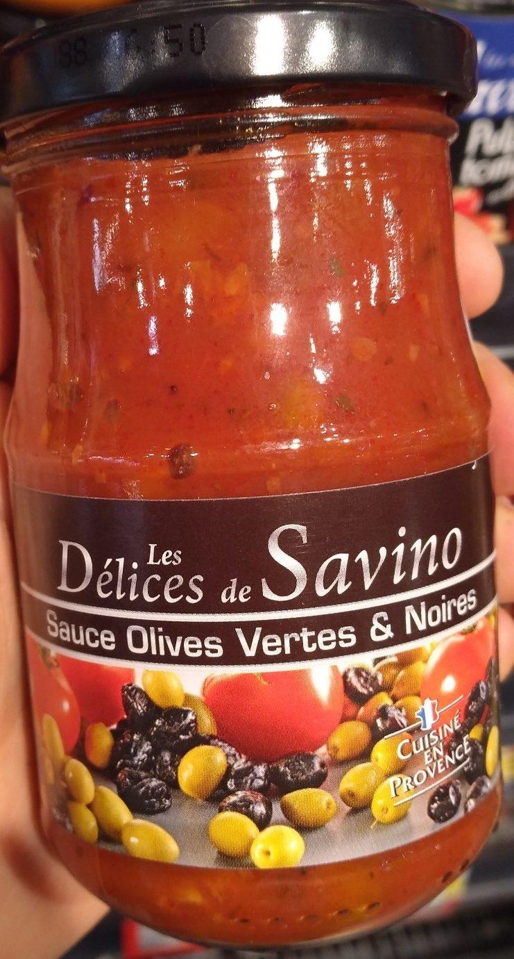 Sauce olives vertes & noires - Produit - fr