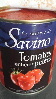 Tomates entières pelées - 4