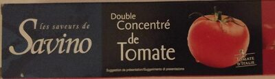 Double concentré de tomate - Produit
