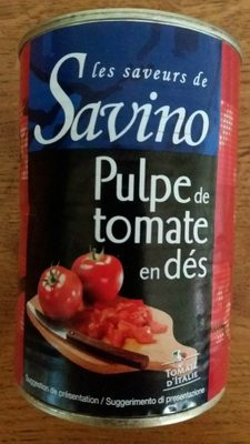 Pulpe de tomate en dés - Produkt - fr