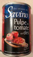 Pulpe de tomate en dés - Produit - fr