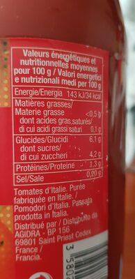 Purée de tomate fraîches - 8