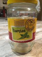 Bamias - Ingrédients - fr