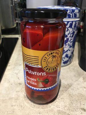 Poivrons Rouges Grillés - Produit - fr