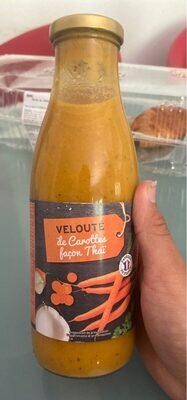 Soupe Carottes Façon Thaï - Product - fr