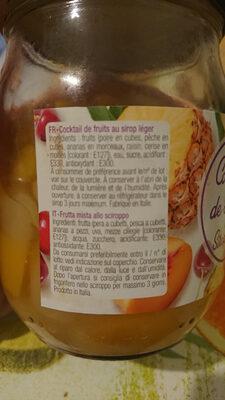 Cocktail de fruit au sirop léger - Produit