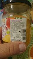 Cocktail de fruit au sirop léger - Informations nutritionnelles
