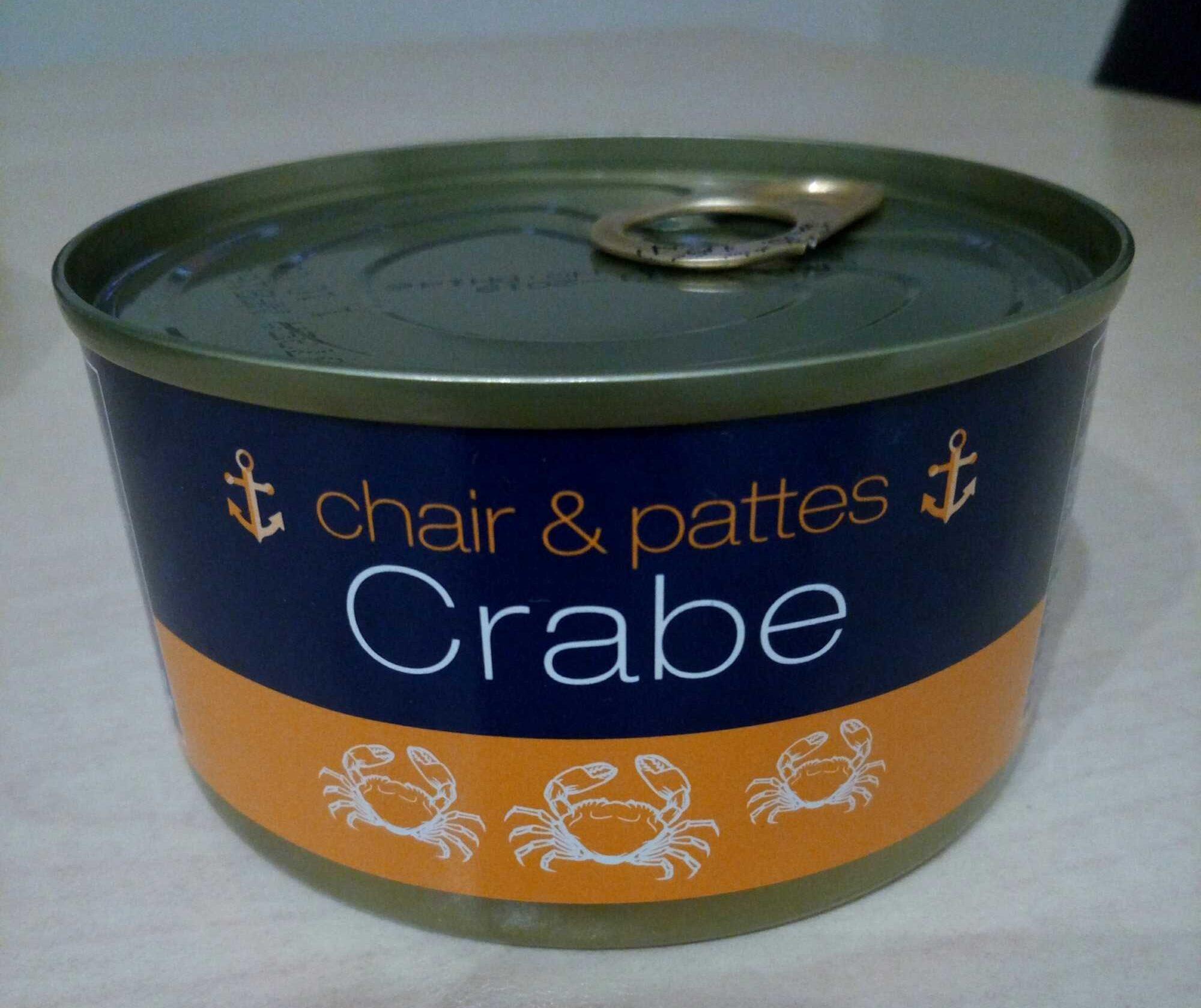 Chair et pattes - Crabe - Produit