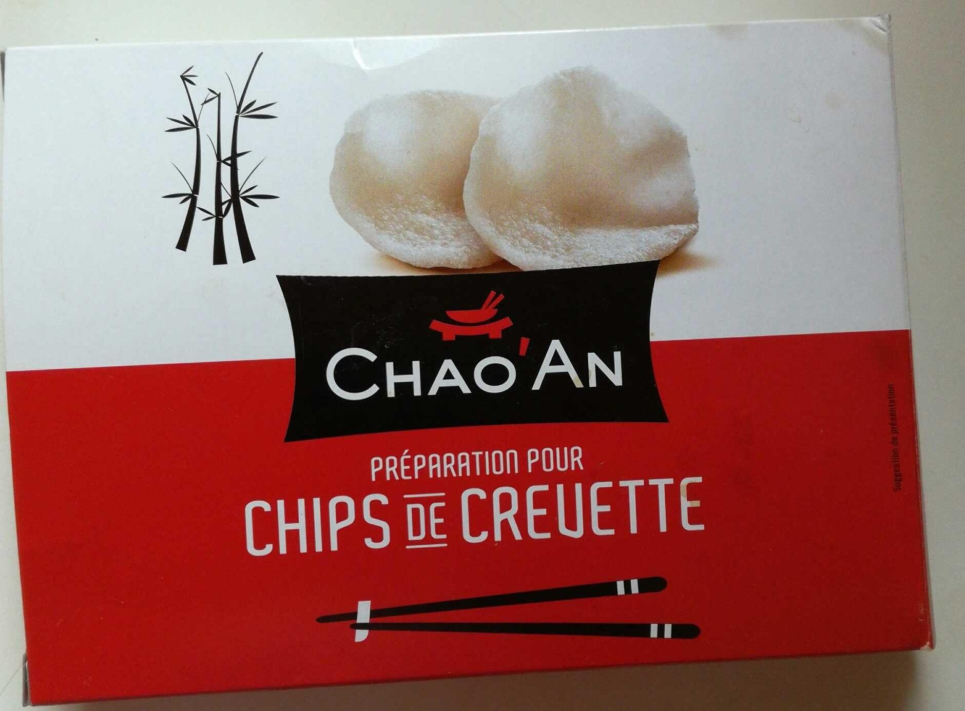 Préparation pour Chips de Crevettes - Product