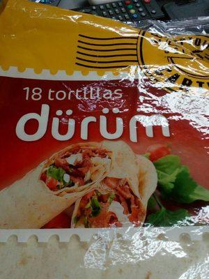 Durum tortillas - Produit - fr