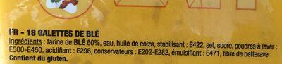 Durum tortillas - Ingrédients - fr