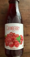 Boisson à la cranberry - Product