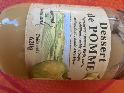 Dessert de pommes - Produit - fr