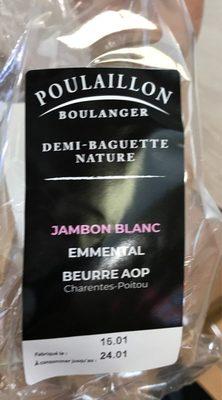 Demi-baguette jambonc blanc - Product