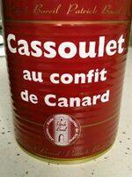 Cassoulet au confit de canard - Voedingswaarden - fr