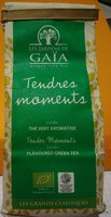 Thé Vert Aromatisé Vanille Bio (Tendres moments) - Produit - fr